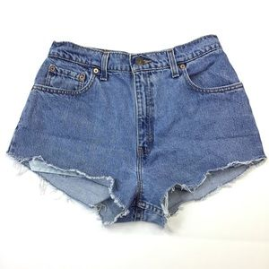 Levi's Shorts - Vintage Levi's high rise cut off Jean Shorts